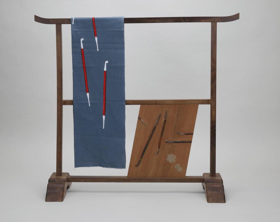 茶道具製作で有名な指物師、竹内不山(たけうちふざん)作