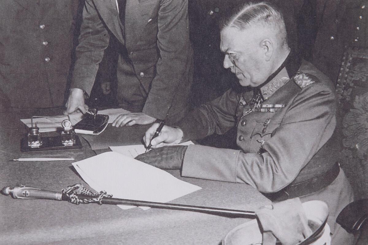 ドイツ国防軍最高司令部陸軍元師ヴィルヘルム・カイテル