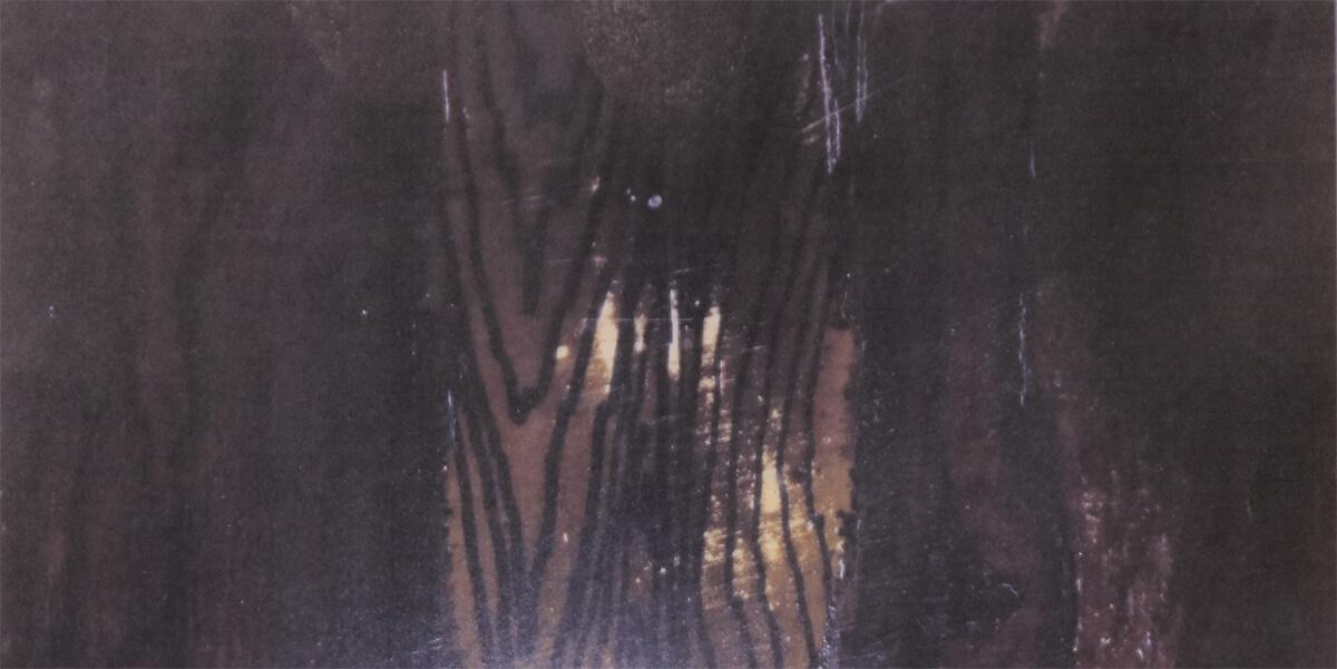 黒柿床柱材の一部分
