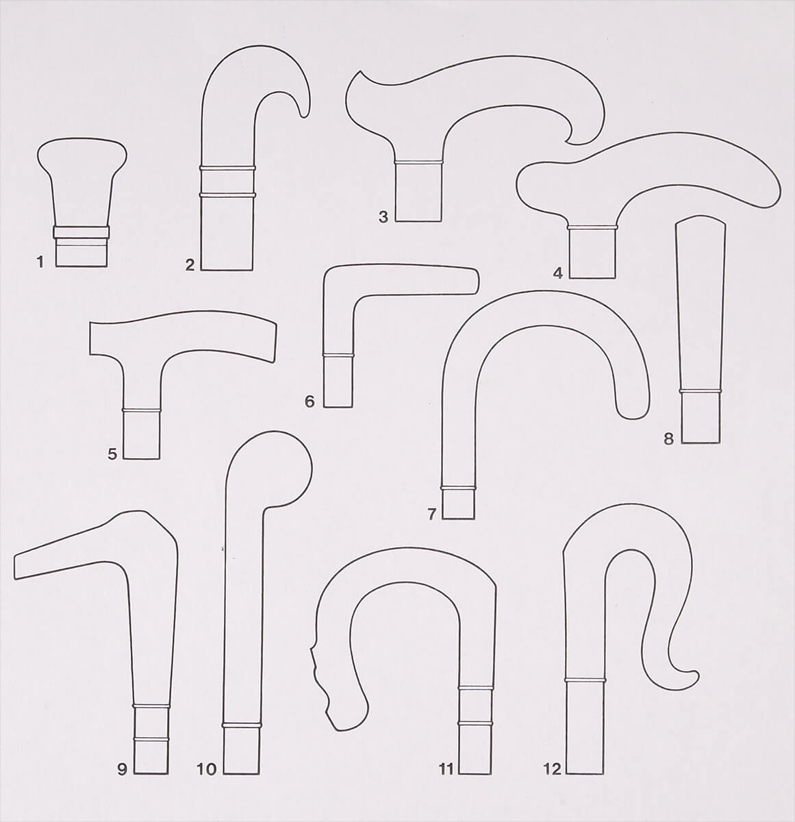 銀ハンドルのデザイン帳の一部