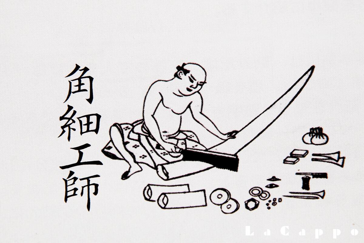 江戸時代、職人絵図より