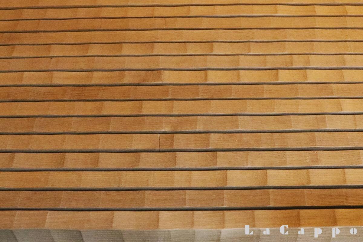 埼玉県草加市文化会館「漸草庵 百代の過客」にて撮影した名栗の腰掛