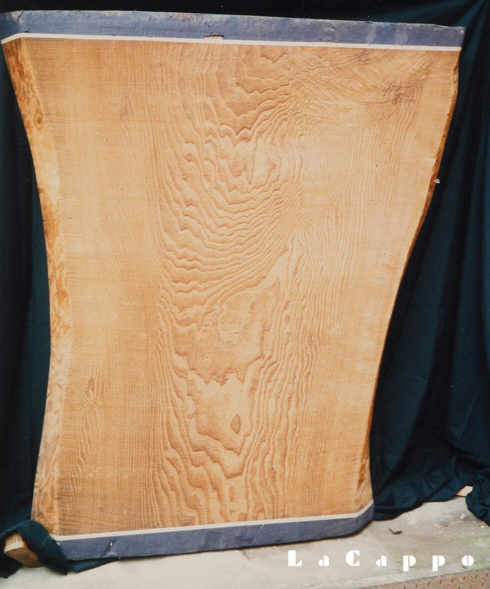 桐の琵琶棚板