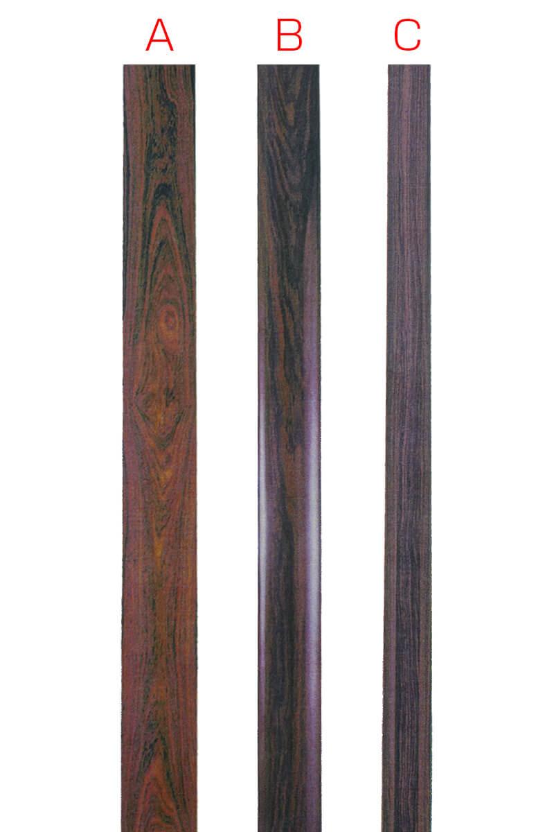 紫檀材の比較