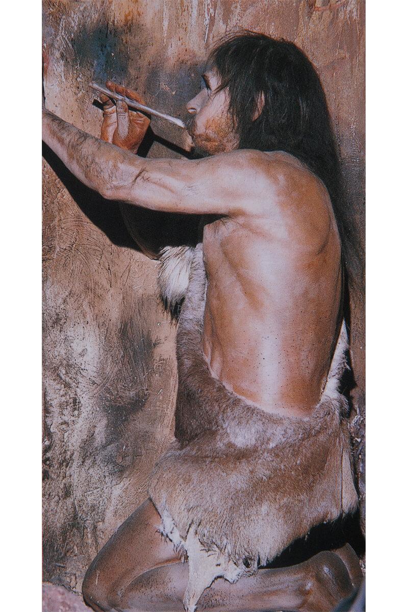 スペイン・フランスの洞窟の壁に残された動物画を描いたのは、旧石器時代のクロマニヨン人と言われています。