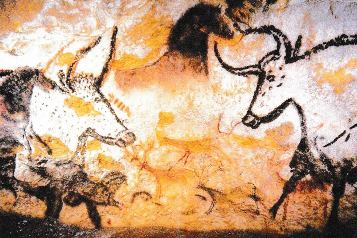 フランス・ラスコーの壁画(今から1万5千年前)
