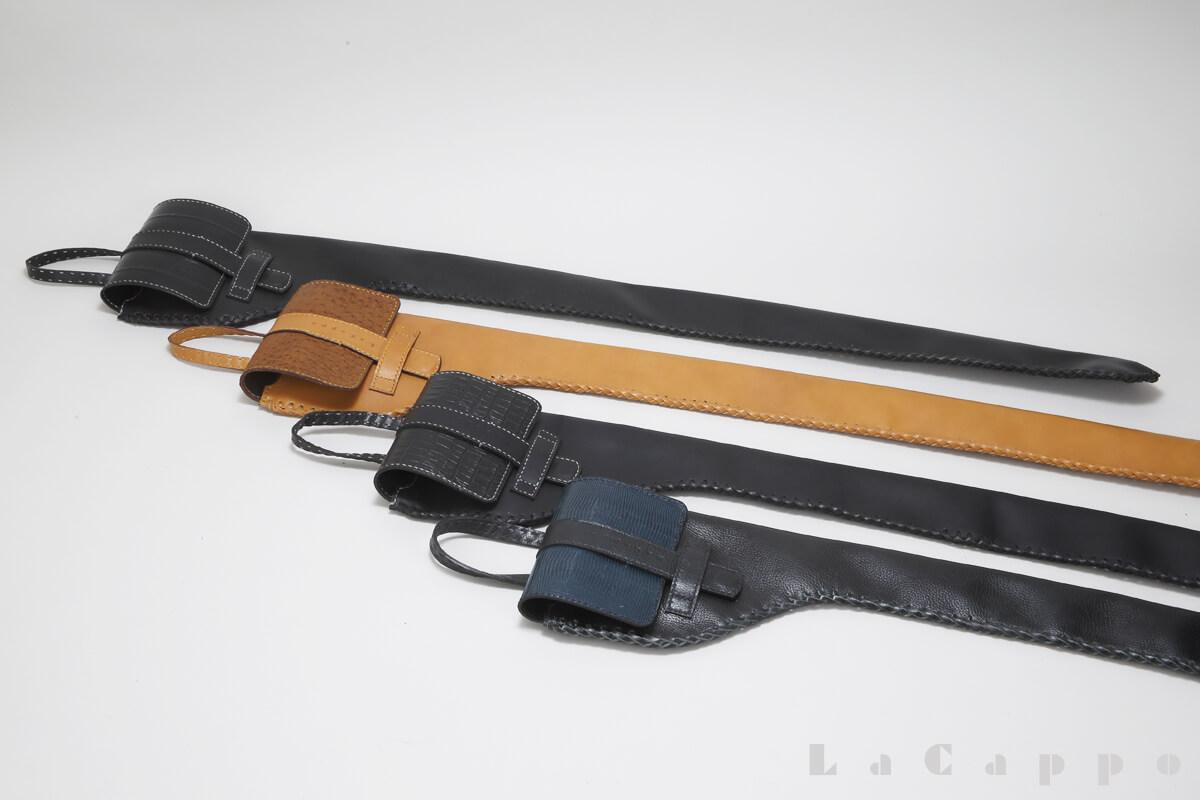 手縫い本革製のステッキケース